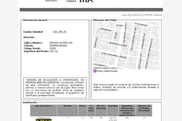 Foto de casa en venta en serafin olarte 00, independencia, benito juárez, df / cdmx, 6150004 No. 04