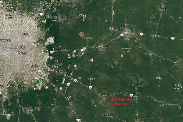 Foto de terreno habitacional en venta en  , seye, seyé, yucatán, 7858336 No. 01