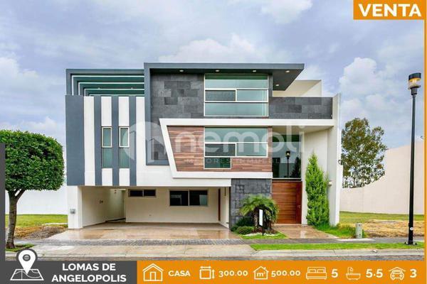 Foto de casa en venta en sierra de la plata 21, lomas de angelópolis closster 333, san andrés cholula, puebla, 5931874 No. 01
