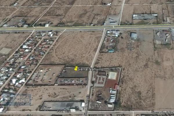 Foto de terreno habitacional en venta en sierra de tlahualilo fraccion de lote , plazuela de acuña, juárez, chihuahua, 3352676 No. 01