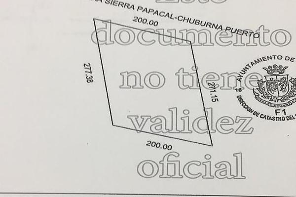 Foto de terreno habitacional en venta en  , sierra papacal, mérida, yucatán, 14028195 No. 02