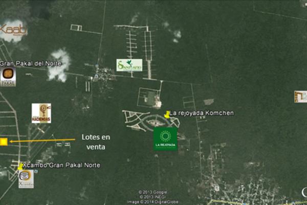 Foto de terreno habitacional en venta en  , sierra papacal, mérida, yucatán, 14028199 No. 02