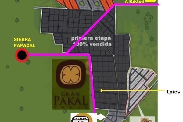 Foto de terreno habitacional en venta en  , sierra papacal, mérida, yucatán, 14028199 No. 04