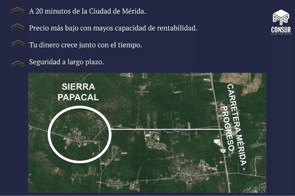 Foto de terreno habitacional en venta en  , sierra papacal, mérida, yucatán, 5319196 No. 12