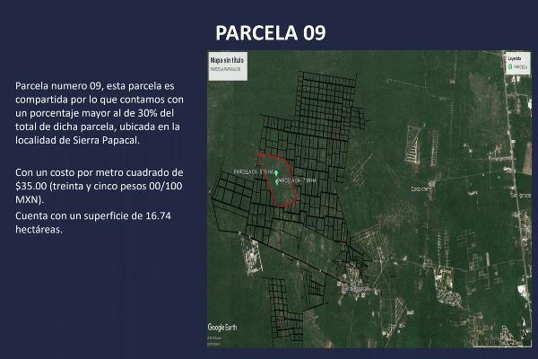Foto de terreno habitacional en venta en  , sierra papacal, mérida, yucatán, 5319196 No. 16