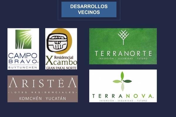 Foto de terreno habitacional en venta en  , sierra papacal, mérida, yucatán, 5319196 No. 39