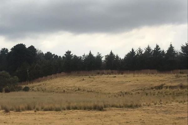 Foto de terreno habitacional en venta en sin nombre 0, cacalomacán, toluca, méxico, 5800223 No. 01