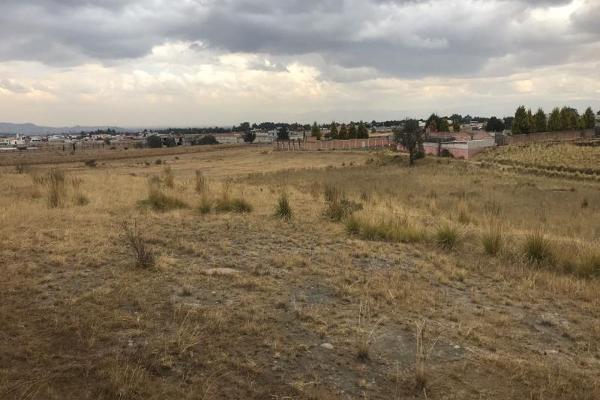 Foto de terreno habitacional en venta en sin nombre 0, cacalomacán, toluca, méxico, 5800223 No. 04
