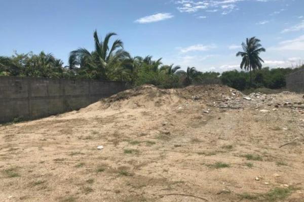 Foto de terreno habitacional en venta en sin nombre , san andrés playa encantada, acapulco de juárez, guerrero, 5390609 No. 01