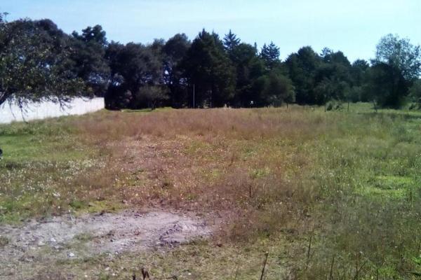 Foto de terreno habitacional en venta en sin nombre , tecola, cuaxomulco, tlaxcala, 6170485 No. 01