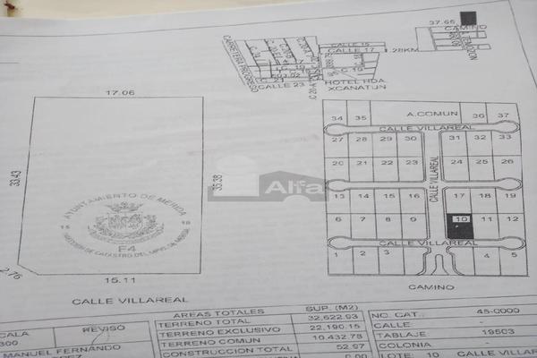 Foto de terreno habitacional en venta en sin nomenclatura , temozon norte, mérida, yucatán, 19635368 No. 07