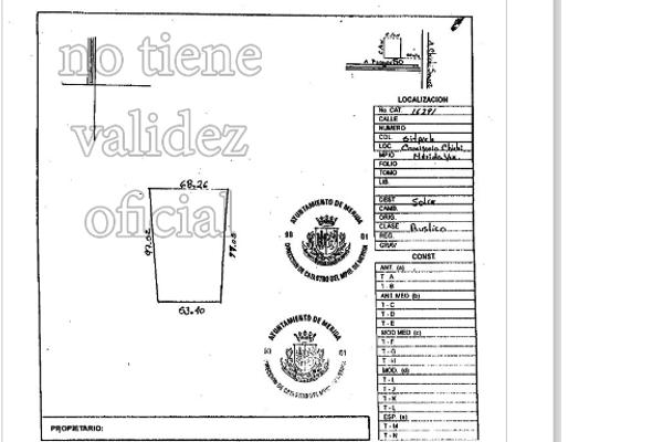 Foto de terreno habitacional en venta en  , sitpach, mérida, yucatán, 3025300 No. 01