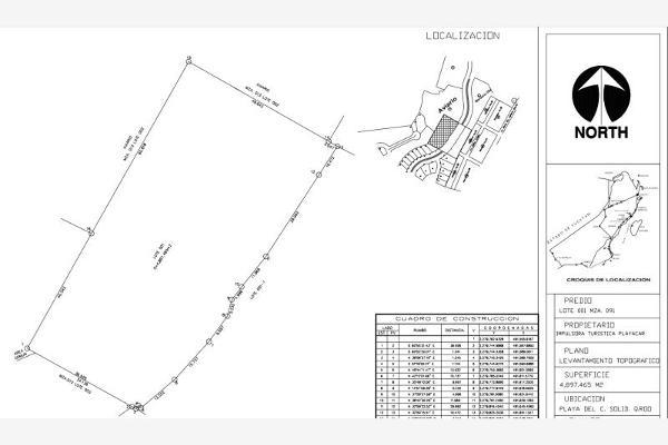 Foto de terreno habitacional en venta en xaman ha smls112, playa car fase ii, solidaridad, quintana roo, 2708524 No. 01