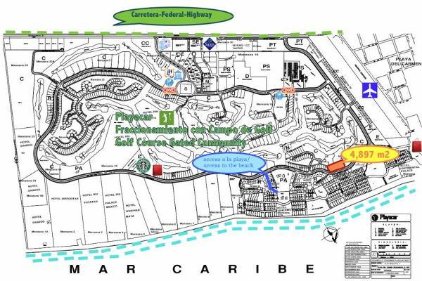 Foto de terreno habitacional en venta en xaman ha smls112, playa car fase ii, solidaridad, quintana roo, 2708524 No. 02