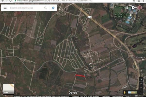 Foto de terreno habitacional en venta en sn 1, la tortuga, atlatlahucan, morelos, 8878595 No. 01
