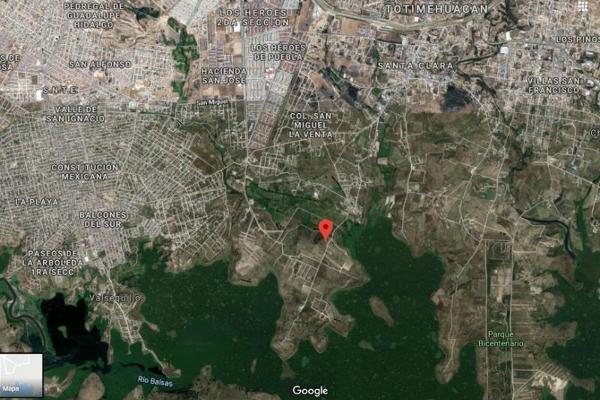 Foto de terreno habitacional en venta en sn , san josé el conde, puebla, puebla, 7303813 No. 01
