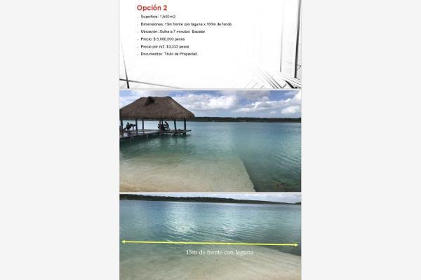 Foto de terreno habitacional en venta en s/n , bacalar, bacalar, quintana roo, 10152006 No. 03