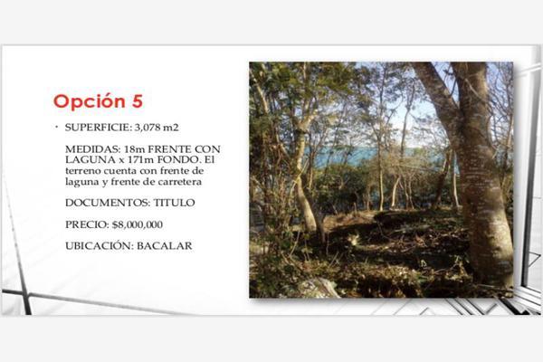 Foto de terreno habitacional en venta en s/n , bacalar, bacalar, quintana roo, 10152006 No. 08