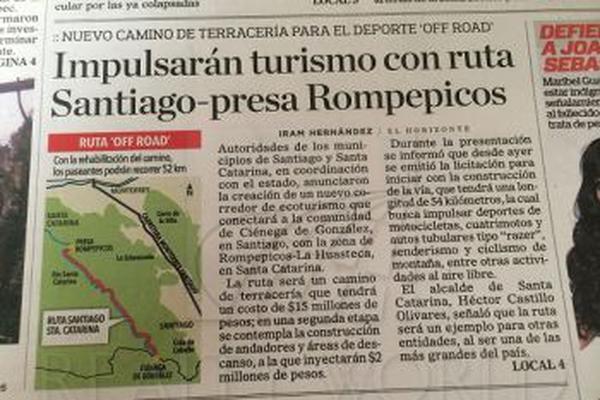 Foto de terreno comercial en venta en s/n , bosques la huasteca, santa catarina, nuevo león, 9980858 No. 02