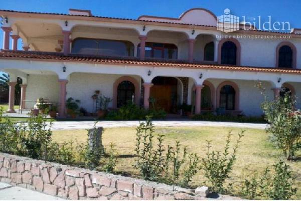 Foto de casa en venta en s/n , campestre martinica, durango, durango, 9974527 No. 01