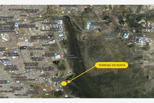 Foto de terreno comercial en renta en sn , centro sur, querétaro, querétaro, 0 No. 03
