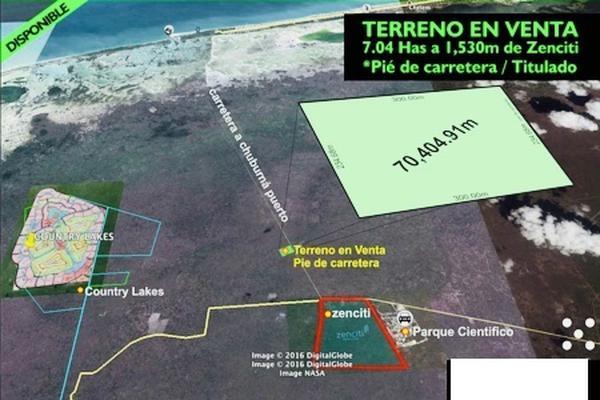 Foto de terreno habitacional en venta en s/n , chuburna puerto, progreso, yucatán, 9976571 No. 01