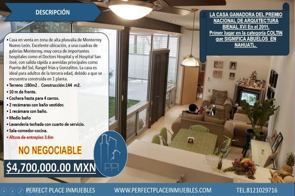 Foto de casa en venta en s/n , colinas de san jerónimo, monterrey, nuevo león, 9955475 No. 01