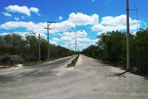 Foto de terreno habitacional en venta en s/n , conkal, conkal, yucatán, 10274893 No. 04