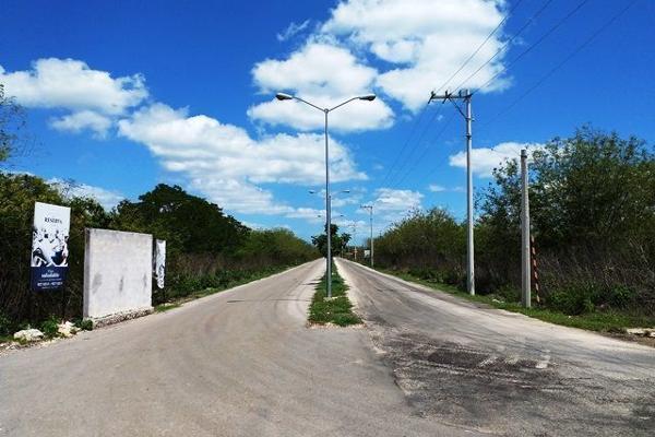Foto de terreno habitacional en venta en s/n , conkal, conkal, yucatán, 10274893 No. 06