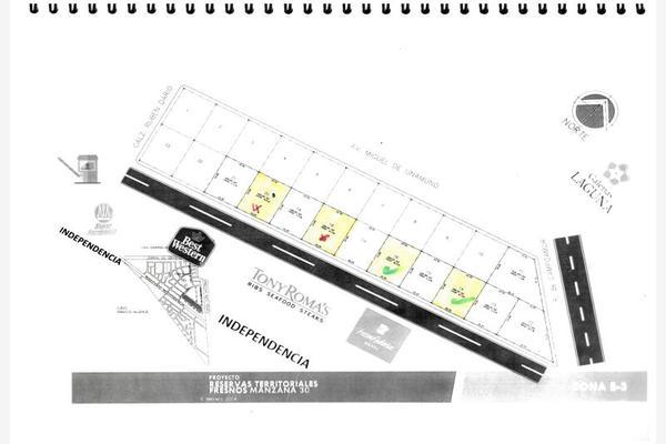 Foto de terreno habitacional en venta en s/n , el fresno, torreón, coahuila de zaragoza, 10174380 No. 01
