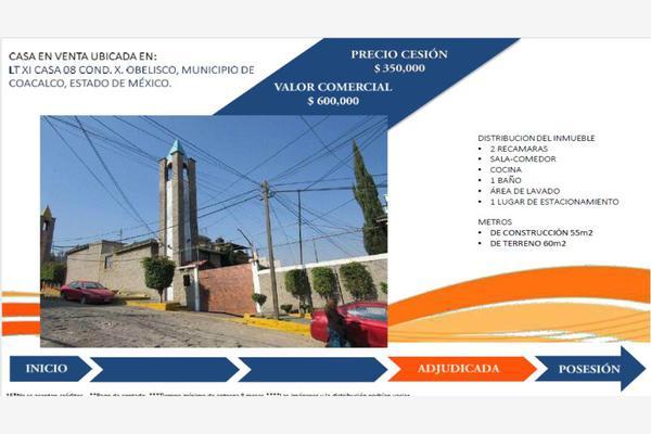 Foto de casa en venta en s/n , el obelisco, tultitlán, méxico, 0 No. 01