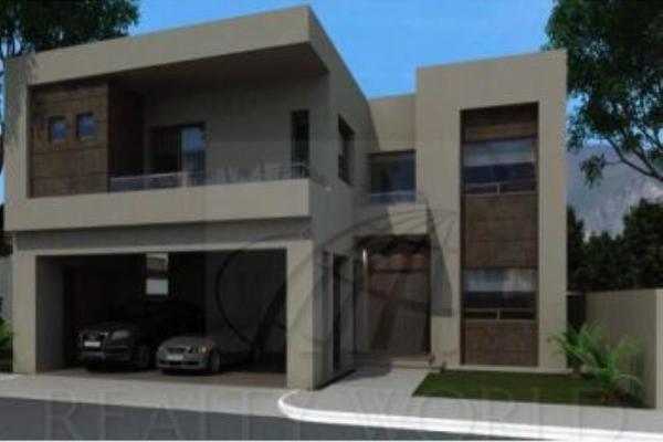 Foto de casa en venta en s/n , el portón de valle alto, monterrey, nuevo león, 9990426 No. 01
