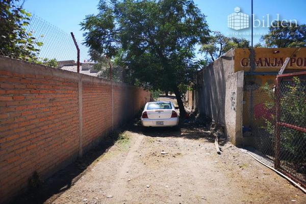 Foto de terreno habitacional en venta en s/n , el pueblito, durango, durango, 10082754 No. 01