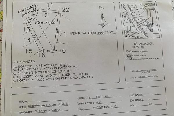 Foto de terreno habitacional en venta en s/n , colinas del saltito, durango, durango, 10005840 No. 02