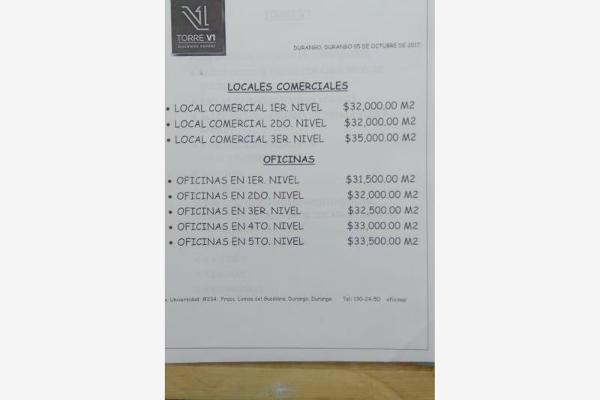 Foto de local en venta en s/n , los remedios, durango, durango, 9105915 No. 10