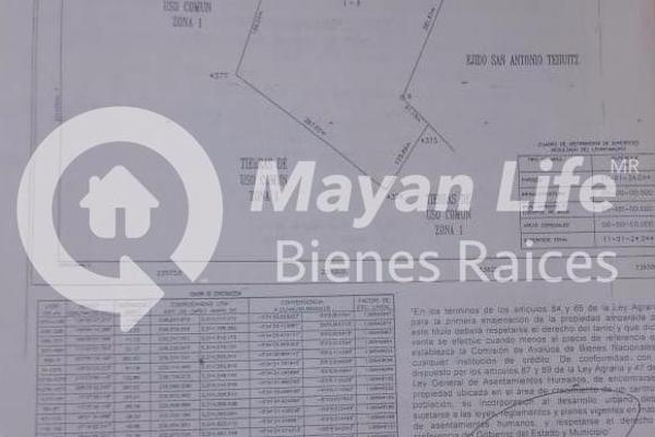 Foto de terreno habitacional en venta en s/n , kanasin, kanasín, yucatán, 9961068 No. 01