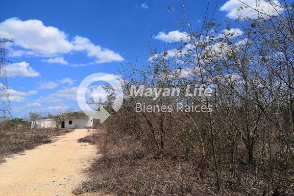 Foto de terreno habitacional en venta en s/n , kanasin, kanasín, yucatán, 9961068 No. 02