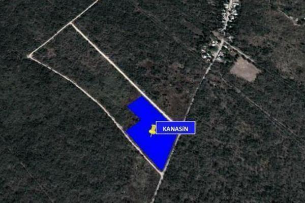 Foto de terreno habitacional en venta en s/n , kanasin, kanasín, yucatán, 9990751 No. 01