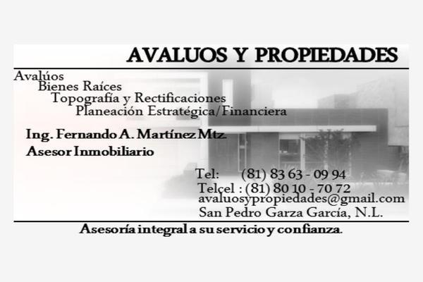 Foto de terreno habitacional en venta en s/n , la boca, santiago, nuevo león, 10106983 No. 06
