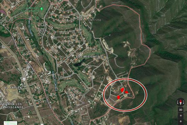 Foto de terreno habitacional en venta en s/n , las misiones, santiago, nuevo león, 10282433 No. 01