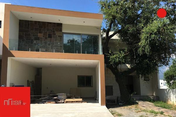 Foto de casa en venta en s/n , la joya privada residencial, monterrey, nuevo león, 9981532 No. 01