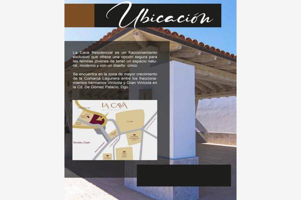 Foto de terreno habitacional en venta en s/n , las huertas, gómez palacio, durango, 19140283 No. 02