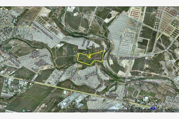 Foto de terreno habitacional en venta en s/n , las margaritas, juárez, nuevo león, 10106215 No. 01