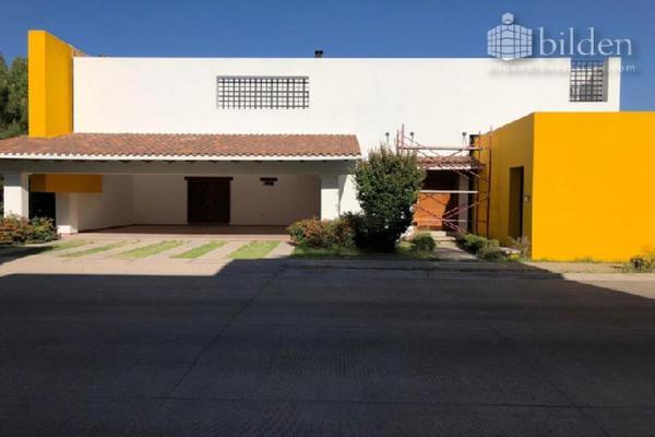 Foto de casa en renta en sn , las privanzas, durango, durango, 8098315 No. 01