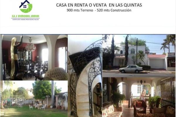 Foto de casa en venta en s/n , las quintas, culiacán, sinaloa, 9984169 No. 01