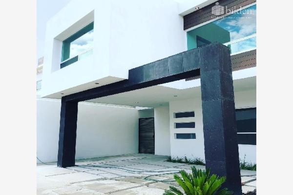 Foto de casa en venta en s/n , los cedros residencial, durango, durango, 10192382 No. 01