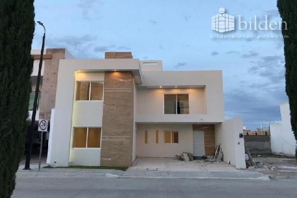 Foto de casa en venta en s/n , los cedros residencial, durango, durango, 9969905 No. 01