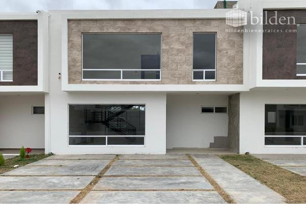Foto de casa en venta en s/n , los cedros residencial, durango, durango, 9984795 No. 01