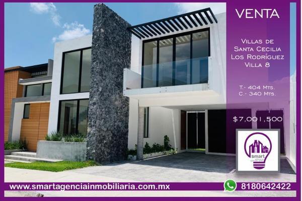 Foto de casa en venta en s/n , los rodriguez, santiago, nuevo león, 9949603 No. 01