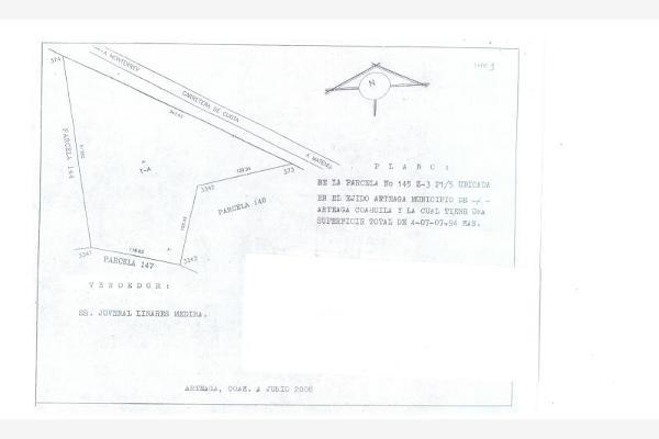 Foto de terreno comercial en venta en s/n , mesa de las tablas, arteaga, coahuila de zaragoza, 8862098 No. 02